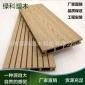热销 塑木空心地板 木塑地板 防水防火户外防腐木地板 批发